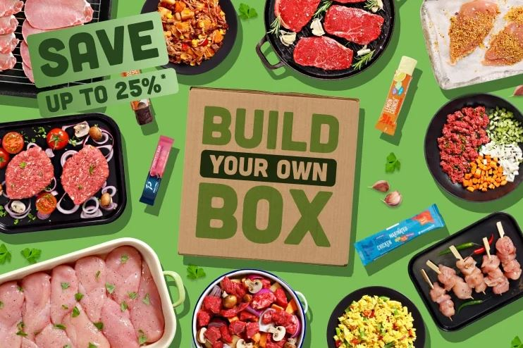 Muscle food build your own box