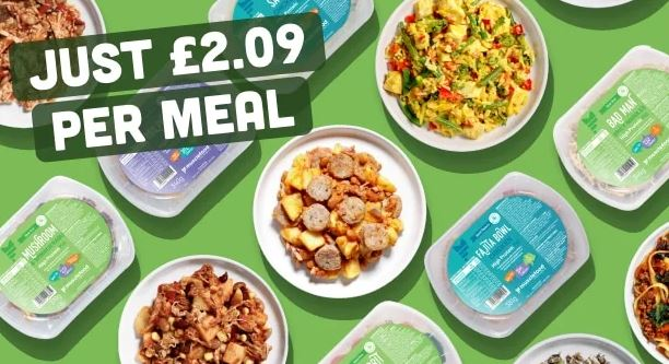 Musclefood meals