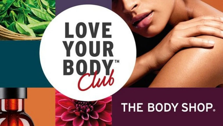 The Body Shop - Love Your Body Club